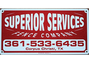 Corpus Christi fencing contractor Superior Services & Maintenance Fencing Company