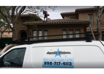Carlsbad window cleaner Superior Window Cleaning
