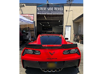 Orange auto detailing service Supreme Shine Premier