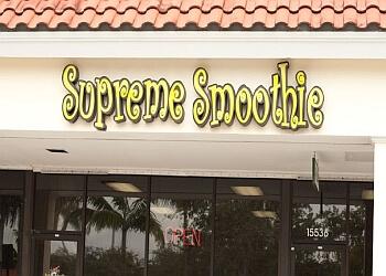 Hialeah juice bar Supreme Smoothie