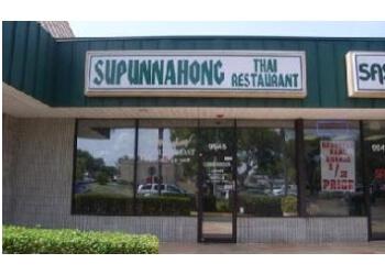 Pembroke Pines thai restaurant Supunnahong Thai Restaurant