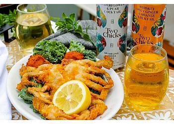 Hampton seafood restaurant Surf Rider Blue Water