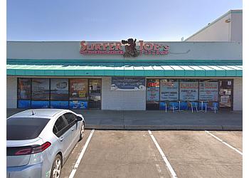 San Bernardino pizza place Surfer Joe's Pizza