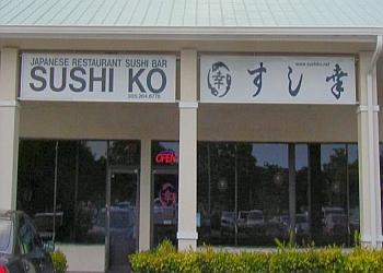Miami sushi Sushi Ko Japanese Restaurant