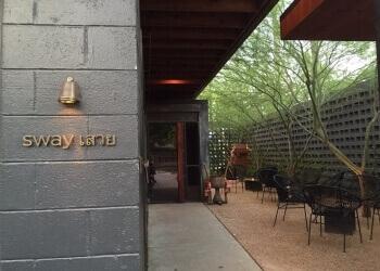 Austin thai restaurant Sway