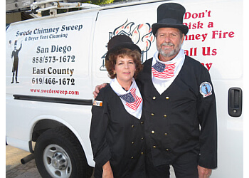 San Diego chimney sweep Swede Chimney Sweep & Dryer Vent Cleaning