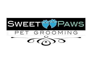 Orange pet grooming Sweet Paws Pet Grooming