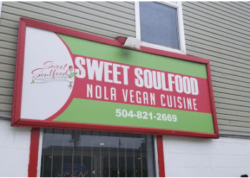 New Orleans vegetarian restaurant Sweet Soulfood
