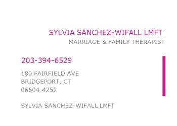 Bridgeport marriage counselor Sylvia Sanchez-Wifall, LMFT