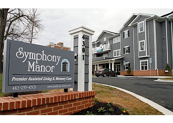 Baltimore assisted living facility SYMPHONY MANOR ASSISTED LIVING & Memory Care