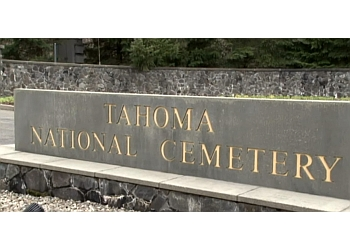 Kent landmark TAHOMA NATIONAL CEMETERY