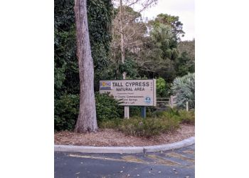 Coral Springs hiking trail TALL CYPRESS NATURAL AREA