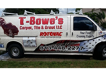 Clearwater carpet cleaner T-Bowe's Carpet Tile & Grout Restoration