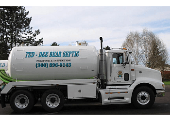 Vancouver septic tank service TED-DEE BEAR Septic LLC