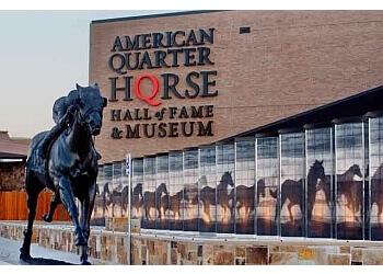 Amarillo landmark THE AMERICAN QUARTER HORSE HALL OF FAME & MUSEUM