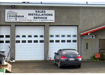Kent garage door repair THE DOORMAN SERVICE CO, INC.
