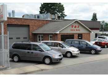 Hartford auto body shop T & J Auto Body