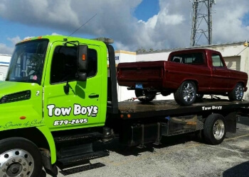 Port St Lucie towing company TOW BOYS, INC.