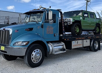 Pembroke Pines towing company Tow Truck Angel
