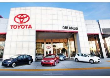 Orlando car dealership TOYOTA OF ORLANDO