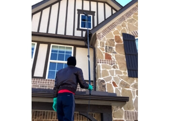 Houston window cleaner TRUSHINE WINDOW CLEANING