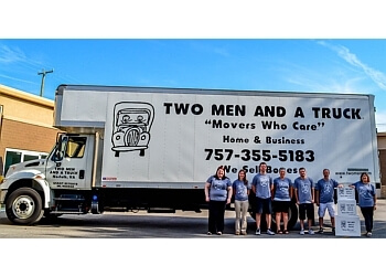 Chesapeake moving company TWO MEN AND A TRUCK