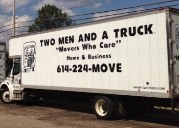 Columbus moving company TWO MEN AND A TRUCK