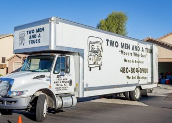 Mesa moving company TWO MEN AND A TRUCK