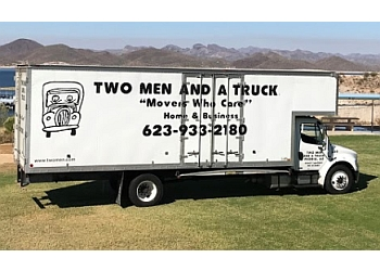 Peoria moving company TWO MEN AND A TRUCK