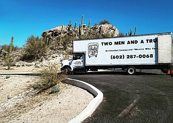 Scottsdale moving company TWO MEN AND A TRUCK
