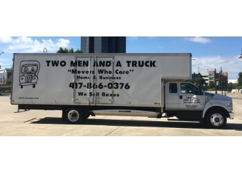 Springfield moving company TWO MEN AND A TRUCK