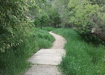 Billings hiking trail TWO MOON PARK