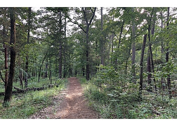 Tyler hiking trail TYLER STATE PARK
