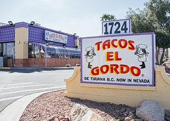 Las Vegas mexican restaurant Tacos El Gordo