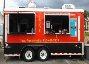 Tampa food truck Tacos Gone Mobile