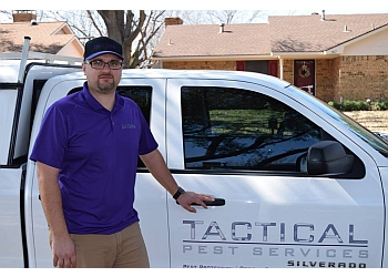 Garland pest control company Tactical Pest Services