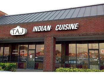 Tampa indian restaurant Taj Indian Cuisine