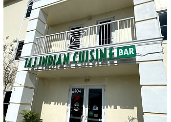 Port St Lucie indian restaurant Taj Indian Restaurant & Bar