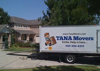 Santa Rosa moving company Tana Movers