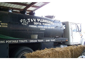 Mesquite septic tank service T and V Plumbing and Septic Service