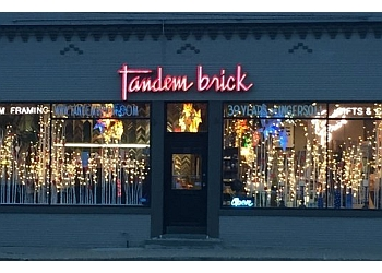 Des Moines gift shop Tandem Brick Gallery