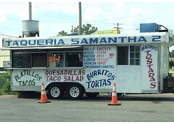 Little Rock food truck Taqueria Samantha