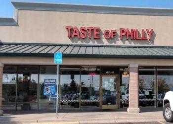 Aurora sandwich shop Taste of Philly