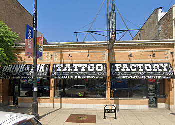 Chicago tattoo shop Tattoo Factory Inc.