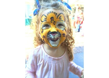 Anaheim face painting Taylor Face Paints