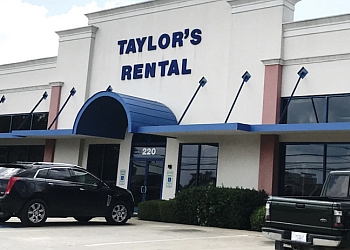Fort Worth event rental company TAYLOR'S RENTAL EQUIPMENT CO.