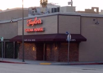 Los Angeles steak house Taylor's steakhouse