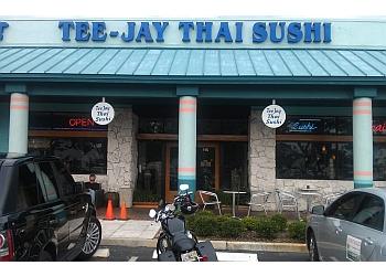 Fort Lauderdale thai restaurant Tee- Jay Thai Sushi