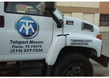 Plano moving company Teleport Movers