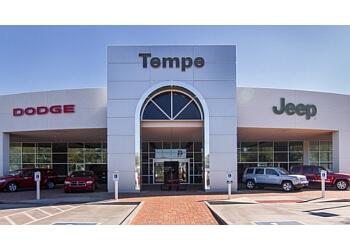 Tempe car dealership TEMPE CHRYSLER DODGE JEEP